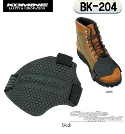 ☆【ネコポス対応】【KOMINE】 BK-204 TPUシフトパッド BK-204 TPU Shift Pad ツーリング 靴 シューズ ブーツ 傷 キズ コミネ【バイク用品】