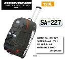 ☆【KOMINE】 コミネ SA-227 レーシングギアトロリー キャリーバッグ 旅行バッグ ヘルメットバッグ サーキット用…