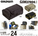 ☆【GOLD WIN】GSM27806 X-OVERリアバッグ24 ツーリング カバン 鞄 シンプル リュック  シートバック Riding Bag …