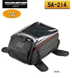 ☆【KOMINE】 コミネ SA-214  ツーリングタンクバッグウエストバッグ ツーリングバッグ ショルダーバッグ 【バイク用品】