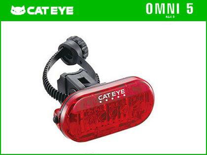 【CATEYE】(キャットアイ)TL-LD155-R オムニ5 テール ライト【リア ライト】【自転車 アクセサリー】 4990173024421