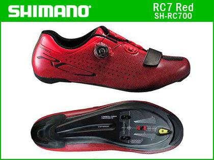 【サイズ欠品中あり注意】【送料無料】【SHIMANO】(シマノ)RC7(SH-RC700)レッド ロードシューズ【サイクルシューズ】【サイズ交換不可品】spd-SLシューズ