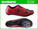 【送料無料】【SHIMANO】(シマノ)RC7(SH-RC700)レッド ロードシューズ【サイクルシューズ】【サイズ交換不可品】spd-SLシューズ