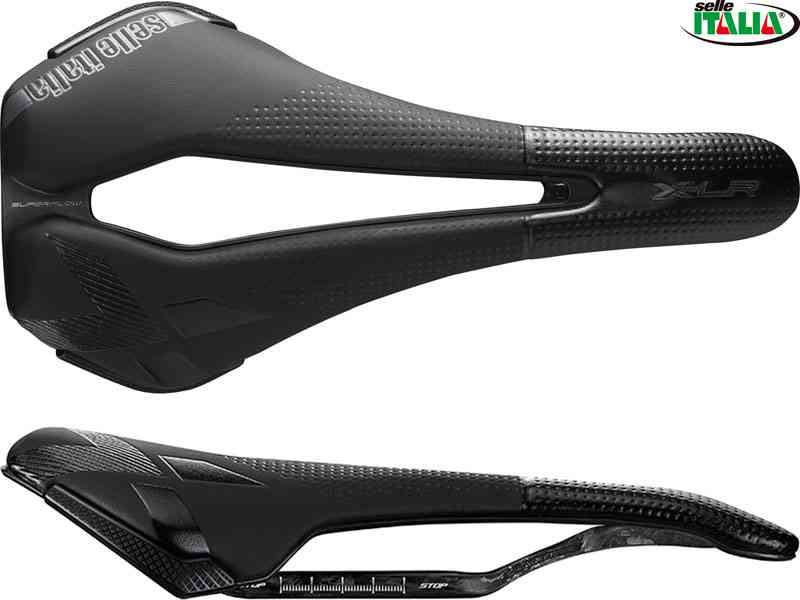 (送料無料)【SELLE ITALIA】(セライタリア)X-LR KIT CARBON C/K BLK L SuperFlow(CARBOKERAMICレール)(自転車)8030282494800