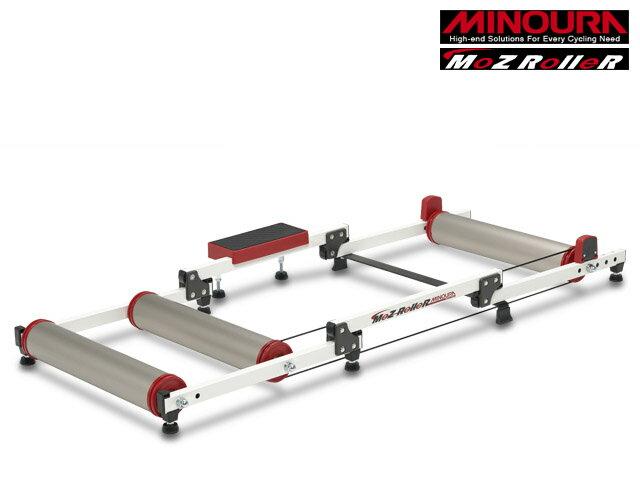 【即納対応】【MINOURA】(ミノウラ)モッズローラー(チタンカラー) 3本ローラー台【ローラー式トレーナー】(自転車) 4944924406448