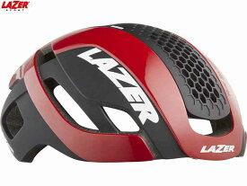 (送料無料)【LAZER】(レイザー)BULLET2.0 AF+LENS+LED+LB(バレット2.0 アジアンフィット+レンズ+LED+ライフビーム) <レッド> ロードヘルメット限定(自転車)5420078863386