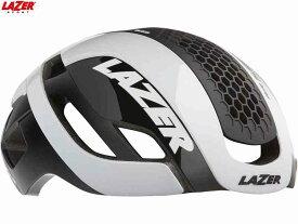 (送料無料)【LAZER】(レイザー)BULLET2.0 AF+LENS+LED+LB(バレット2.0 アジアンフィット+レンズ+LED+ライフビーム) <ホワイト> ロードヘルメット限定(自転車)5420078863416