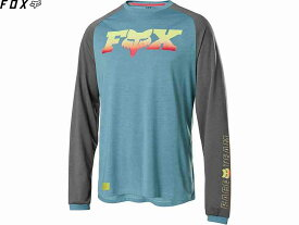 【FOX】(フォックス)RANGER DRIRELEASE FOXHEAD<ライトブルー>LSジャージ 25315-116(自転車)