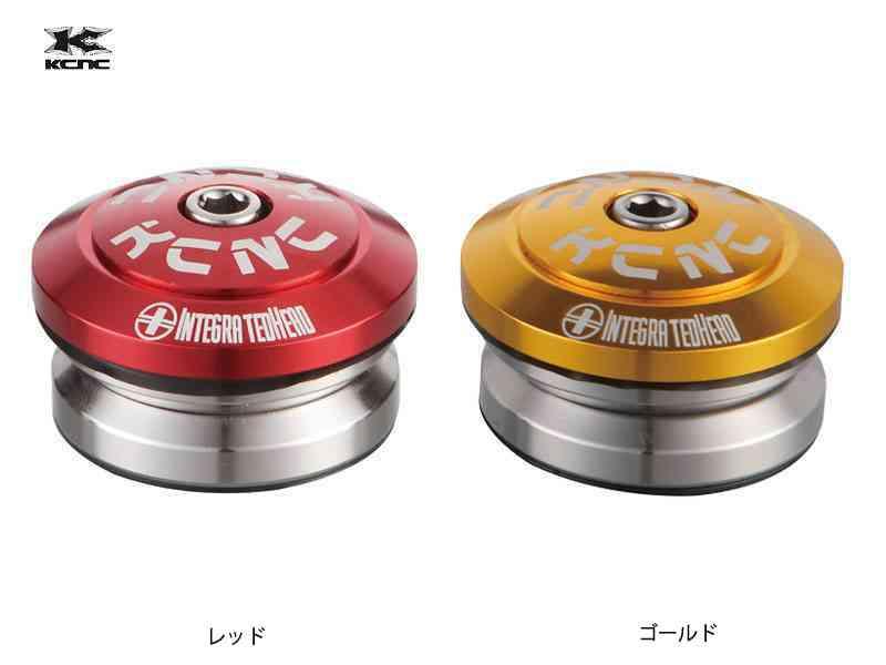 【KCNC】(ケーシーエヌシー)オメガS2 1-1/8 インテグレイテッドヘッドセット 50212【ヘッド】(自転車)