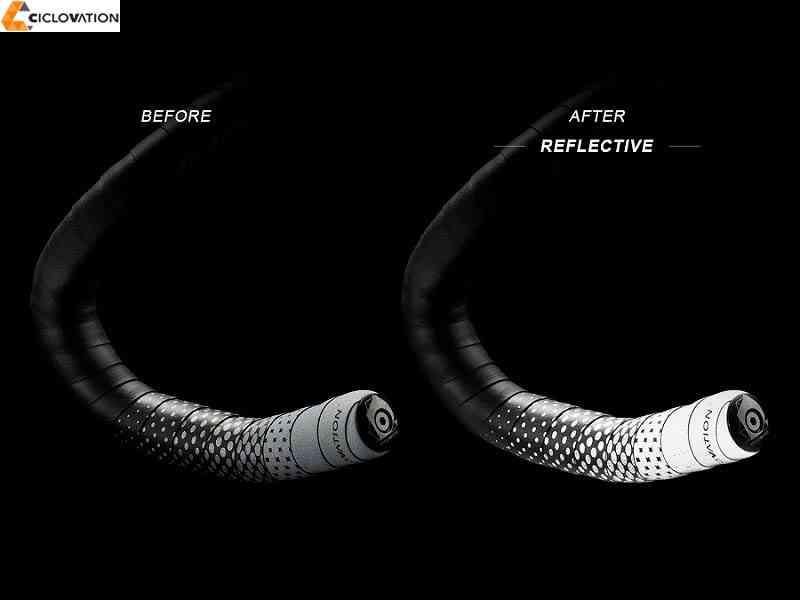 【CICLOVATION】(シクロベイション)レザータッチ フュージョン【リフレクティブ】バーテープ(自転車)4713057602672