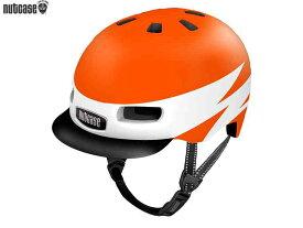 【NUTCASE】(ナットケース)リトル ナッティー MIPS【ライトニング】子供用ヘルメット バイザー付(GEN4)(自転車)