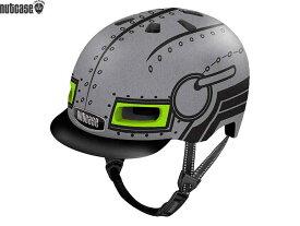 【NUTCASE】(ナットケース)リトル ナッティー MIPS【ロボ ボーイ】子供用ヘルメット バイザー付(GEN4)(自転車)