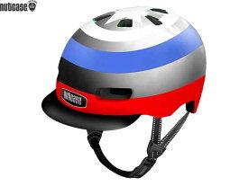 【NUTCASE】(ナットケース)リトル ナッティー MIPS【キャプテン】子供用ヘルメット バイザー付(GEN4)(自転車)
