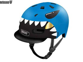 【NUTCASE】(ナットケース)リトル ナッティー MIPS【リルジョーズ】子供用ヘルメット バイザー付(GEN4)(自転車)