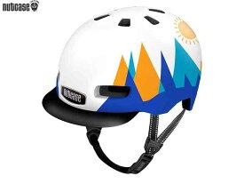 【NUTCASE】(ナットケース)リトル ナッティー MIPS【マウンテンコーリング】子供用ヘルメット バイザー付(GEN4)(自転車)