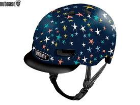 【NUTCASE】(ナットケース)リトル ナッティー MIPS【スターズアーボーン】子供用ヘルメット バイザー付(GEN4)(自転車)