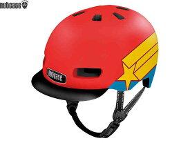 【NUTCASE】(ナットケース)リトル ナッティー MIPS【スーパーデューパー】子供用ヘルメット バイザー付(GEN4)(自転車)