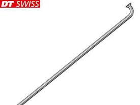 【DT SWISS】(DTスイス)チャンピオン 2.0プレーンスポーク シルバー 10本(ブラスニップル付)【スポーク】(自転車)4935012334071