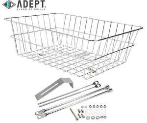【ADEPT】(アデプト)ワイヤード アーバン バスケット L (フォーク クランプ タイプ) <CP>(自転車)4935012346210