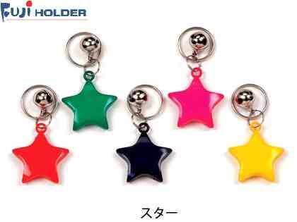 【FUJI HOLDER】(フジホルダー)No.80 鈴付きキーホルダー【キーホルダー】(自転車)