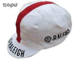 【ネコポス】【APIS】(アピス)サイクリングキャップ<RALEIGH>【帽子】(自転車 ウェア)4560323537424