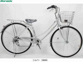 【MARUISHI】(丸石サイクル)サンライム Wループ 27型 6段 FWP276SLJ ファミリーサイクル(自転車)(日時指定・代引き不可)