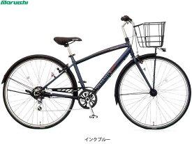 """【MARUISHI】(丸石サイクル)アーバニティークロス 6段 APP276E クロスバイク27""""(自転車)(日時指定・代引き不可)"""