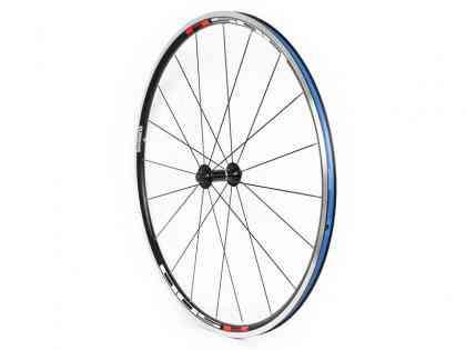 【SHIMANO】(シマノ)WH-R501A クリンチャーロードホイール(フロント用){ブラック}エアロスポーク【自転車 パーツ】