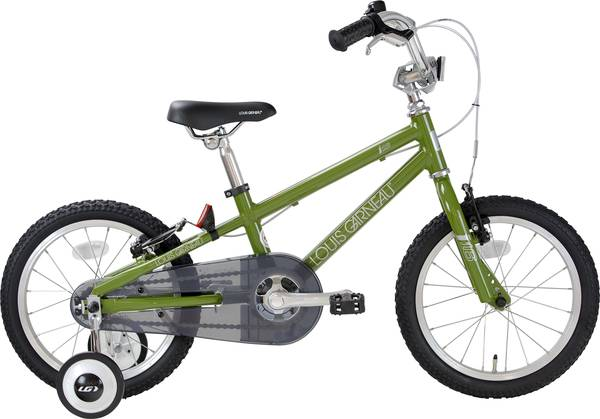 【クリスマスフェア ポイント10倍!】LOUIS GARNEAU かわいい16インチ子供用自転車 限定オリジナルカラー(Norwegian Wood)サイズ(16インチ)LGS-J16 Limited_LGS-J16CS