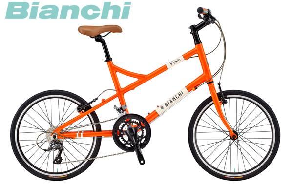 ミニベロ 20インチ Bianchi 2018 PISA F ビアンキ ピサF 〔18 PISA F〕【在庫限りアウトレット価格】