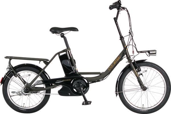 【店頭受取限定】17 LGS-EA20 LOUIS GARNEAU(ルイガノ) 電動自転車 〔17 LGS-EA20〕