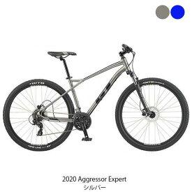 PT10倍 8/9 1:59迄 ジーティ MTB マウンテンバイク スポーツ自転車 2020 アグレッサー エキスパート GT 24段変速