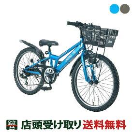 P最大23倍 8/1-8/2 ジープ 男の子 子供 自転車 JE-22S JEEP 22インチ 6段変速