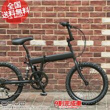 折畳みBMXX-20620インチ6段変速送料無料あす楽9部組シマノshimanoマットブラック