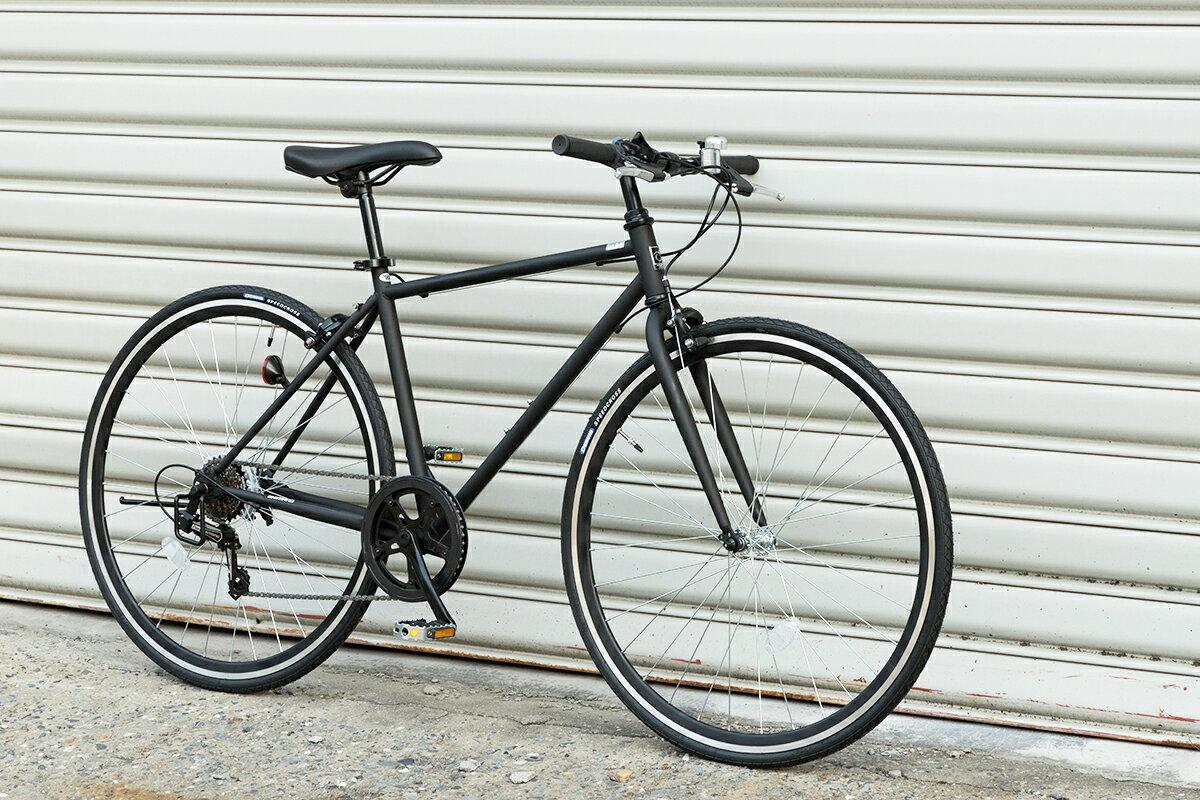 クロスバイク 格安 送料無料 あす楽 8割完成車 シマノ 6段変速 700C