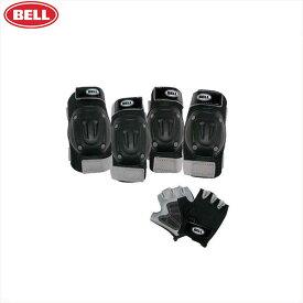 BELL【ベル】  ストリートシュレッドパッドセット ブラック
