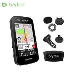 Bryton ブライトン Rider750T ライダー750T ケイデンス・スピード・心拍センサー付 GPSサイクルコンピュータ 日本正規品