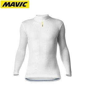 Mavic マヴィック マビック コールドライド ロングスリーブ ベースレイヤー ホワイト日本正規品・2019FWモデル