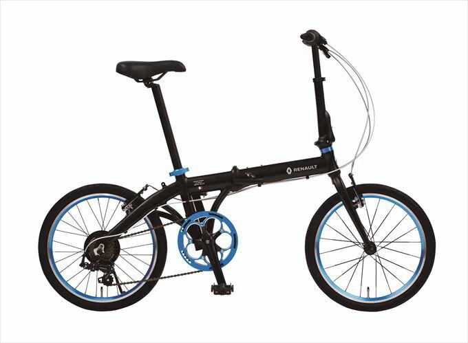 限定クーポン配布中!2018年モデル 折りたたみ自転車 ルノー RENAULT 自転車 ブラック 黒 20インチ 自転車 軽量 7段ギア ルノー 折りたたみ自転車 LIGHT10 ライト10 アルミニウム AL-FDB207 変速 ギア付 通販 おしゃれ