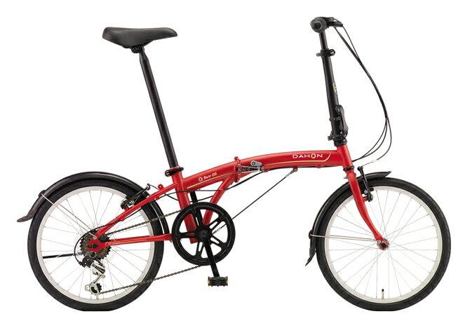 送料無料 折りたたみ自転車 DAHON SUV D6 ダホン 自転車 20インチ 折りたたみ自転車 外装6段変速ギアダホン 折りたたみ自転車 DAHON エスユーヴィー D6 18DAHON SUV-Mat Wine マットワイン おしゃれ
