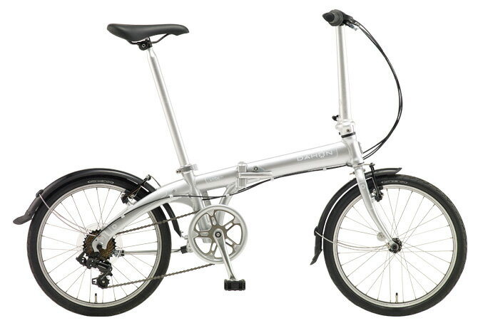 【送料無料 折りたたみ自転車 DAHON Vybe D7 ダホン 自転車 20インチ 折りたたみ自転車 外装7段変速ギア ダホン 折りたたみ自転車 DAHON ヴァイブ D7 2018年モデル Vybe-Mach Silver シルバー おしゃれ