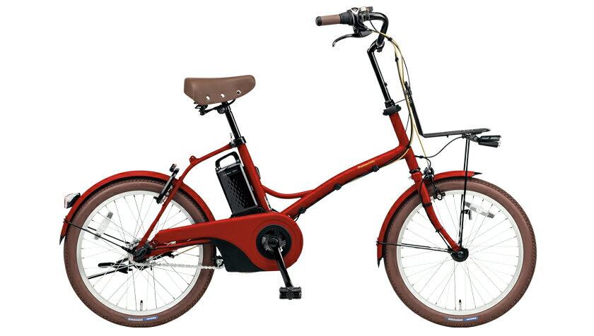 配送先一都三県限定 電動自転車 パナソニック Panasonic グリッター BE-ELGL032R クラシカルレッド 20インチ 電動アシスト自転車 格安 激安 電動自転車 電動ママチャリ 電動アシスト自転車 送料無料 BAA ビジネス シティサイクル おしゃれ
