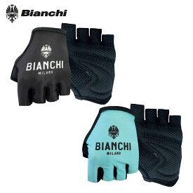 [オープン記念!]【即納】BIANCHI MILANO Divor Glove ビアンキ 指切グローブ/サイクリングウェア サイクル 自転車