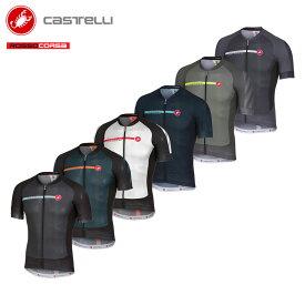 [オープン記念!]【即納】CASTELLI 17014 AERO RACE 5.1 カステリ エアロレース 半袖ジャージ/サイクルジャージ サイクリングウェア サイクル 自転車