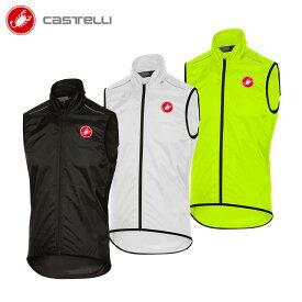 [1周年記念]【即納/取寄】CASTELLI 17056 SQUADRA カステリ スクアドラ 防風防水 レイン ベスト/サイクル 自転車