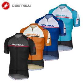 [オープン記念!]【即納】CASTELLI/カステリ 18012 ディスタンザ 半袖ジャージ/サイクルジャージ サイクリングウェア サイクル 自転車