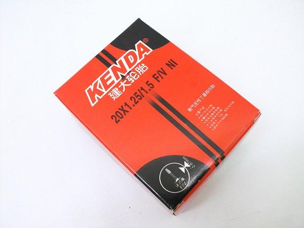 チューブ 20インチ以下 ケンダ チューブ 20×1.25-1.5 仏式/バルブ長30mm 新品