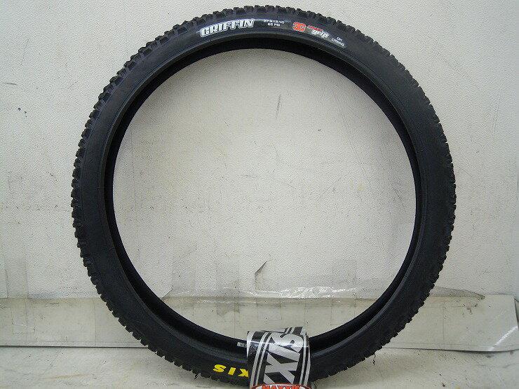 タイヤ 700C マキシス MTBタイヤ グリフィン 27.5×2.4 ワイヤー 3C マックスグリップ クリンチャー - 中古【足立店】