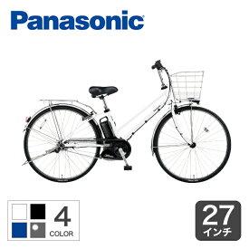 9/25【ポイント最大18倍】2020年モデル 電動自転車 パナソニック ティモDX 27インチ おすすめ おしゃれ 人気 通勤通学 お買い物 BE-ELDT755 大容量バッテリー ポイント2倍