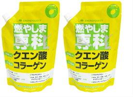 2袋セット 燃やしま専科 500g クエン酸 コラーゲンペプチド グルコサミン 食物繊維 オルニチン ショウガ末 ヒアルロン酸 ビタミン ミネラル 全国送料無料 27種類の成分が毎日の生活をサポート